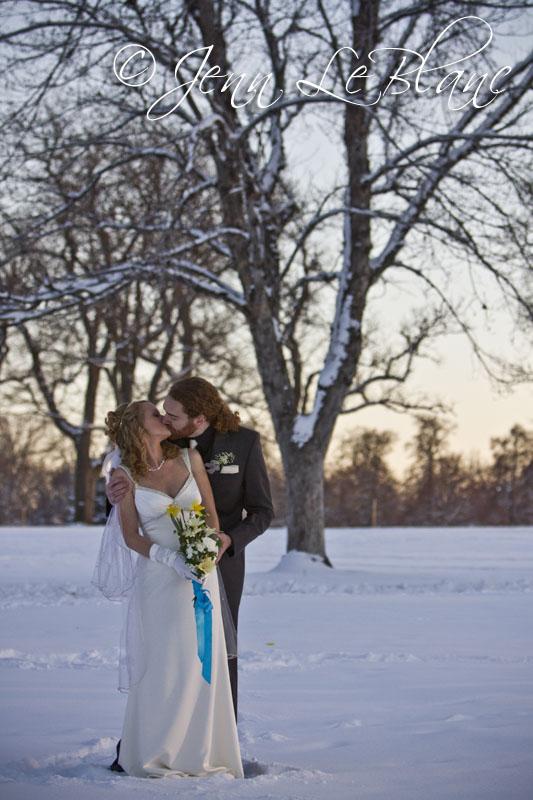 Sarah and Kevin Lansing wedding portraits