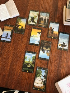 Black Cat Tarot Deck
