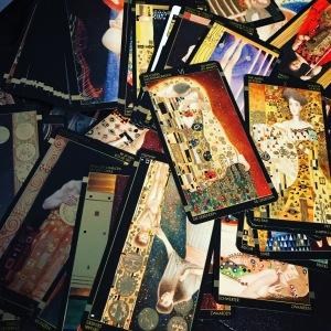 Gustav Klimt Tarot Deck